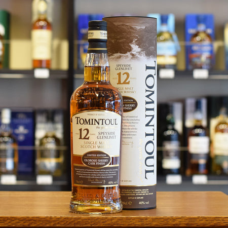 Tomintoul 12 years old 'Oloroso Sherry Cask Finish' 40%