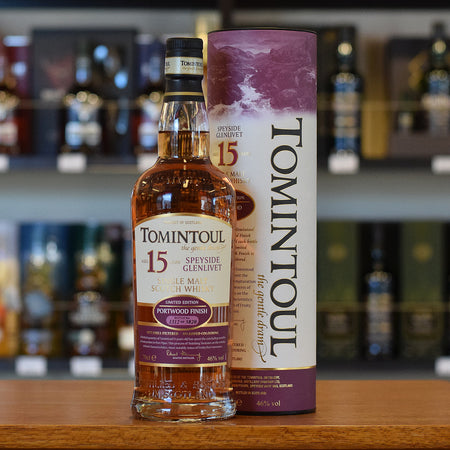 Tomintoul 15 years old 'Portwood Finish' 46%