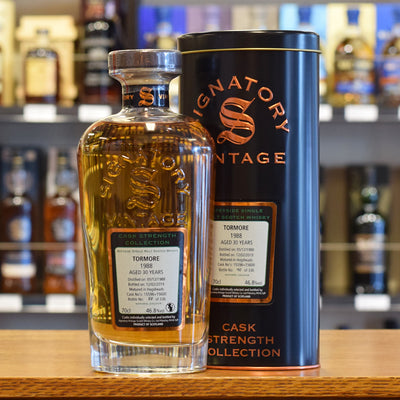 Tormore 'Signatory' 1988 / 30 years old 46.8%