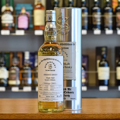 Unamed Orkney 'Signatory' 2005 / 10 years old 46%