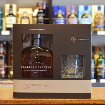 Woodford Reserve Glass Gift Pack 43.2%