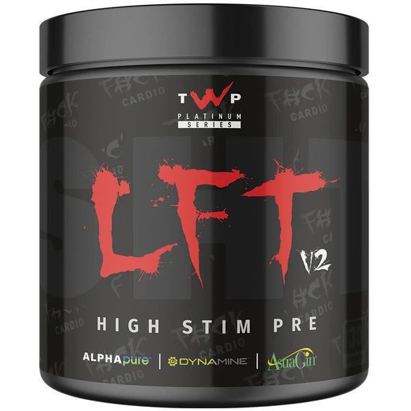 TWP Nutrition LFT SHT V2 Pre Workout (30 Servings) - Bongo Crush - GymSupplements.co.uk