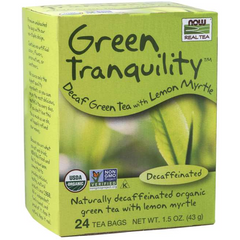 NOW Foods - Green Tranquility™ Tea, Organic - Decaffeinated