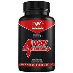 TWP 4WAY SARM STACK (60 CAPS) - Supplements-Direct.co.uk