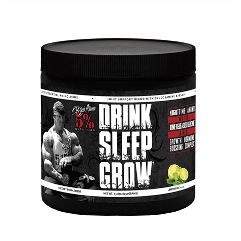 5% Rich Piana - Drink Sleep Grow Night Time Aminos - 450g - Supplements-Direct.co.uk