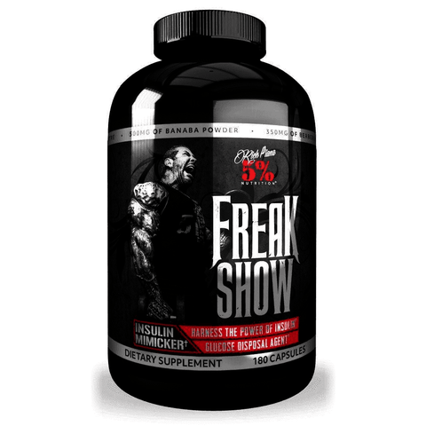 Rich Piana 5% Nutrition Freak Show 180 Caps - Supplements-Direct.co.uk