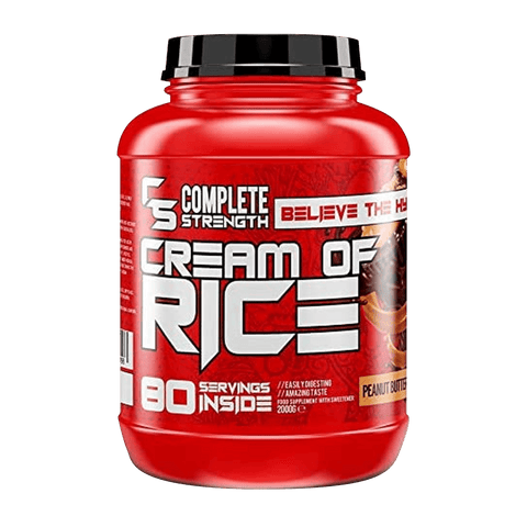 Complete Strength Cream Of Rice 80 Servings 2kg - Sticky Toffee Pudding - GymSupplements.co.uk