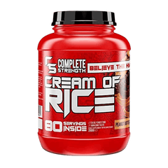 Complete Strength Cream Of Rice 80 Servings 2kg - Peanut Butter - GymSupplements.co.uk