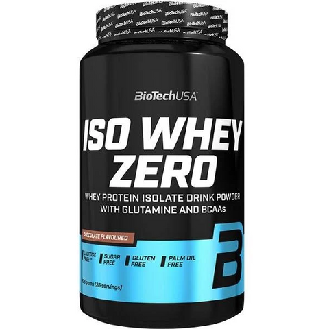 BIOTECH USA Iso Whey Zero 908g - GymSupplements.co.uk