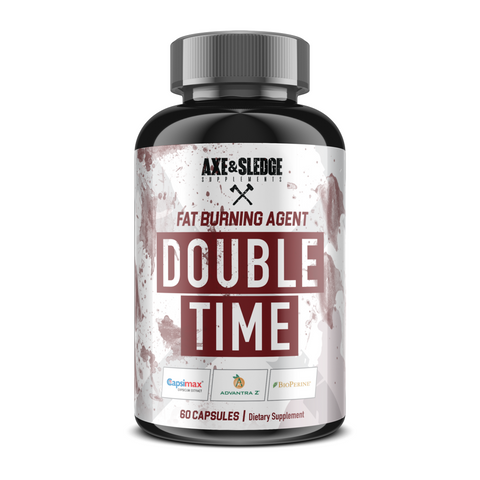 Axe & Sledge Supplements Double Time 60 Caps - Supplements-Direct.co.uk