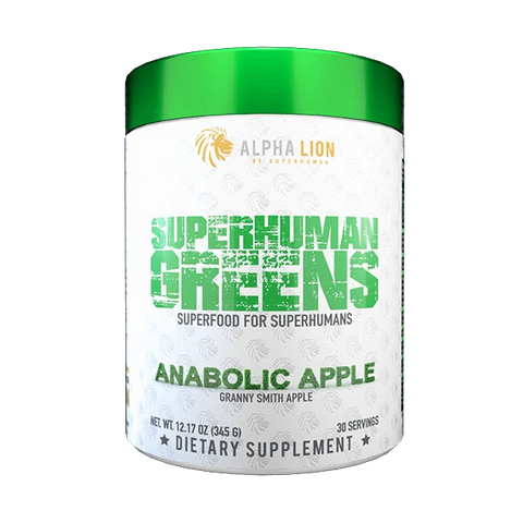 Alpha Lion Superhuman Greens 345g - Anabolic Apple - GymSupplements.co.uk
