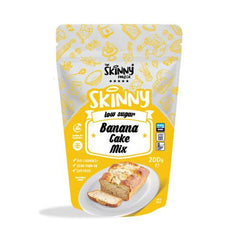 Low Calorie Banana Cake Mix - 10 Slices (Only 100 Calories Per Piece) - Supplements-Direct.co.uk