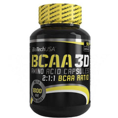 BIOTECH BCAA 3D 90 Caps - Supplements-Direct.co.uk