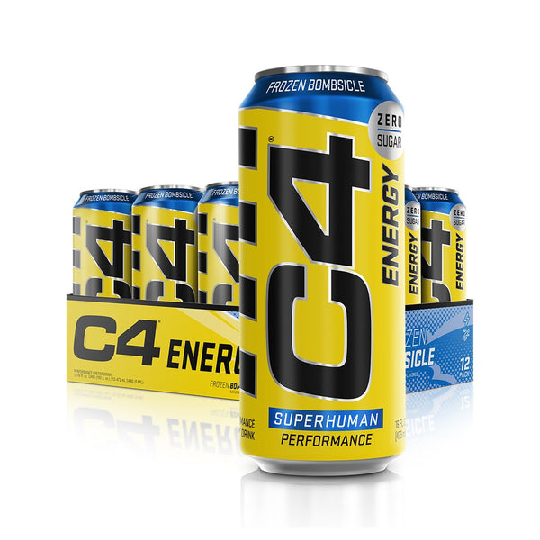 Cellucor C4 Energy Carbonated Frozen Bombsicle 1 x 500ml - Gymsupplements.co.uk
