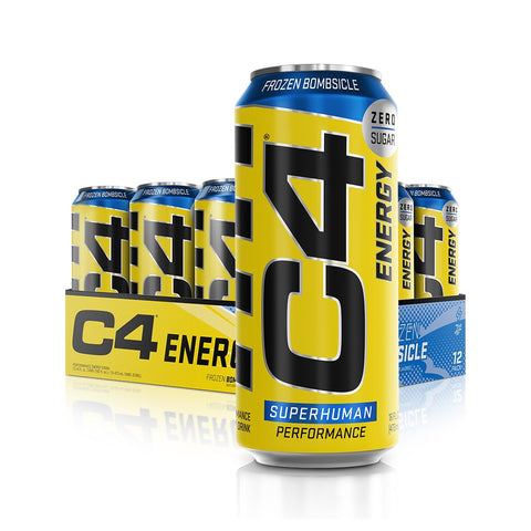 Cellucor C4 Energy Carbonated Frozen Bombsicle 12 x 500ml - Gymsupplements.co.uk
