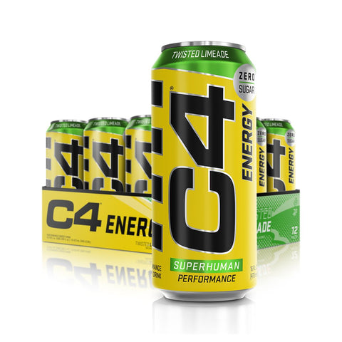 Cellucor C4 Energy Carbonated Twisted Limeade 1 x 500ml - Gymsupplements.co.uk