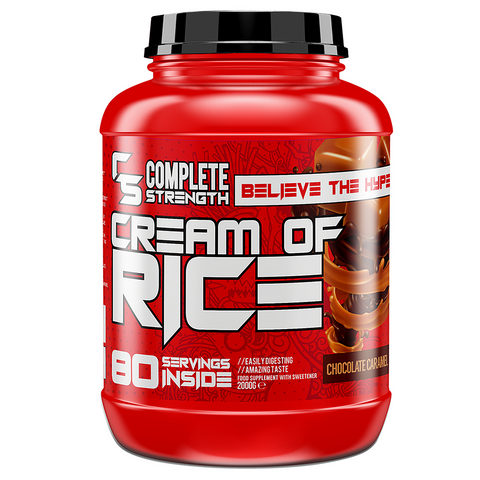 Complete Strength Cream Of Rice 80 Servings 2kg - Cherry Bakewell - GymSupplements.co.uk
