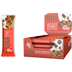 Fulfil Chocolate Peanut Butter Bar 55g - GymSupplements.co.uk