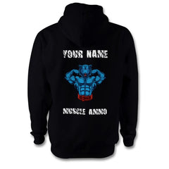 Muscle Ammo Classic Hoody - Customised - Black - Supplements-Direct.co.uk