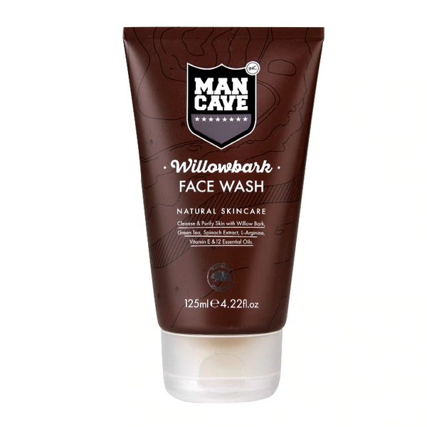 ManCave Willowbark Face Wash 125ml