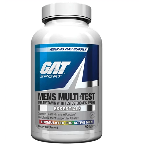 GAT Mens Multivitamin with Testosterone Support - 90 tabs - Supplements-Direct.co.uk