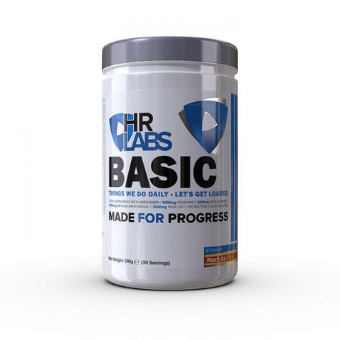 HR Labs Basic 510g - Strawberry & Fuzzy Fruits - GymSupplements.co.uk