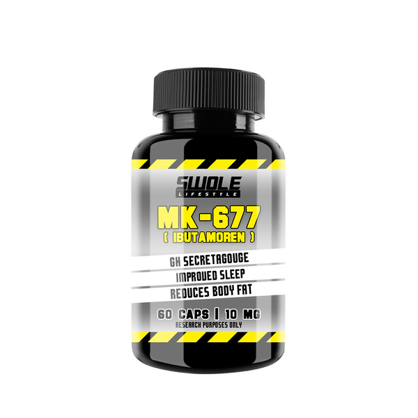 SWOLE - MK-677 - IBUTAMOREN (60 CAPS) - GymSupplements.co.uk