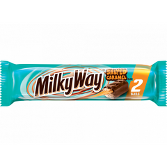 Milky Way Salted Caramel Chocolate Bars (2 Bars) 89g USA Import