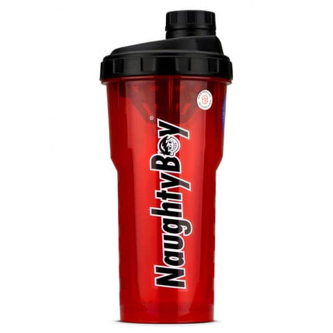 Naughty Boy Classic Shaker 750ml - Red - GymSupplements.co.uk