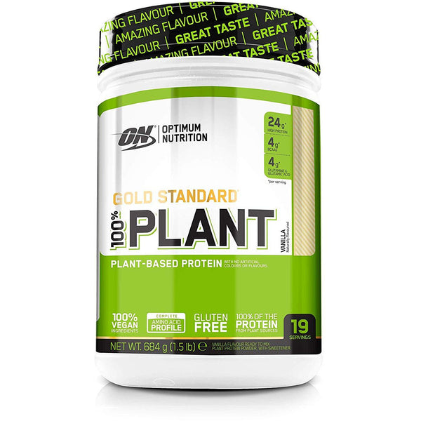 GOLD STANDARD 100% PLANT - GymSupplements.co.uk