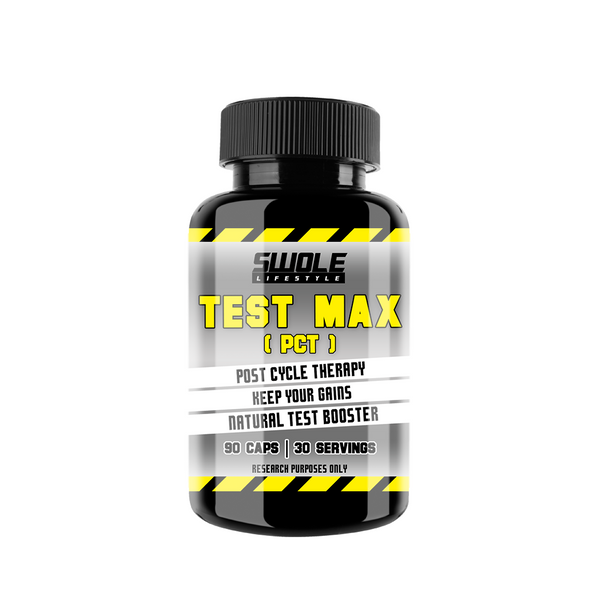 SWOLE - TEST MAX - PCT (Post Cycle Therapy) - GymSupplements.co.uk