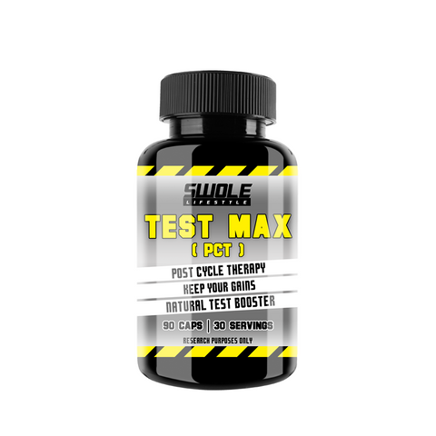 SWOLE - TEST MAX - PCT (Post Cycle Therapy)