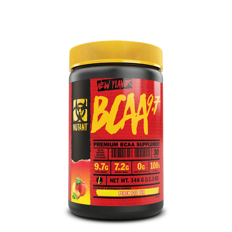 Mutant BCAA 9.7 348g - Peach Iced Tea - GymSupplements.co.uk
