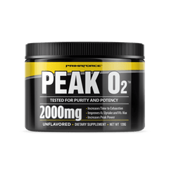 PrimaForce Peak O2 120g - Unflavoured - Exp 01/21 - GymSupplements.co.uk