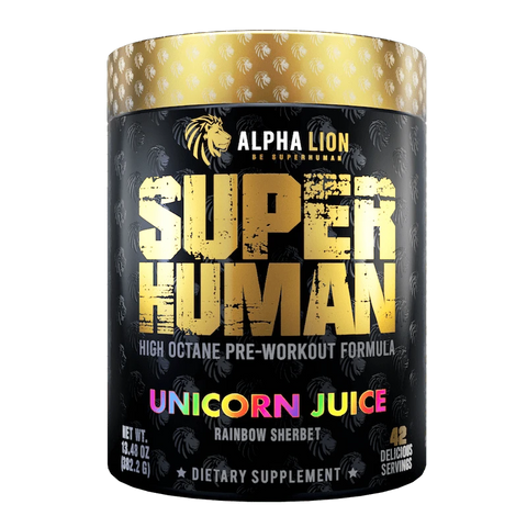 Alpha Lion SuperHuman 401g - Unicorn Juice - GymSupplements.co.uk