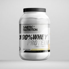 Sabtec Nutrition Whey Protein with Enzymes - Vanilla - Gymsupplements.co.uk