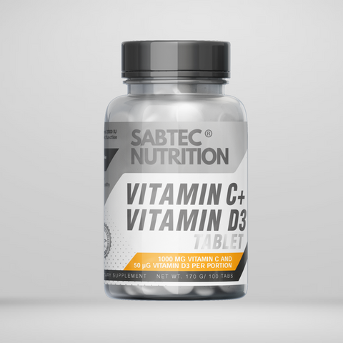 Sabtec Nutrition Vitamin C + Vitamin D3 - Gymsupplements.co.uk
