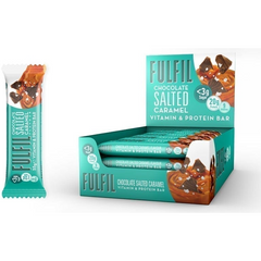 Fulfil Chocolate Salted Caramel Bar 55g - GymSupplements.co.uk