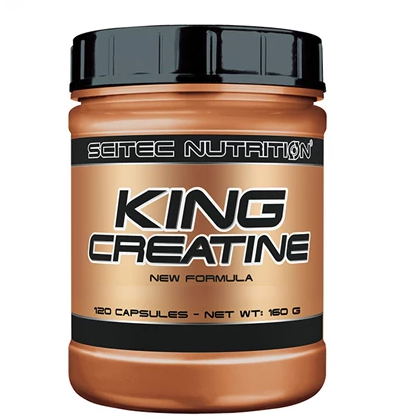 Scitec Nutrition King Creatine (120 Capsules) - GymSupplements.co.uk