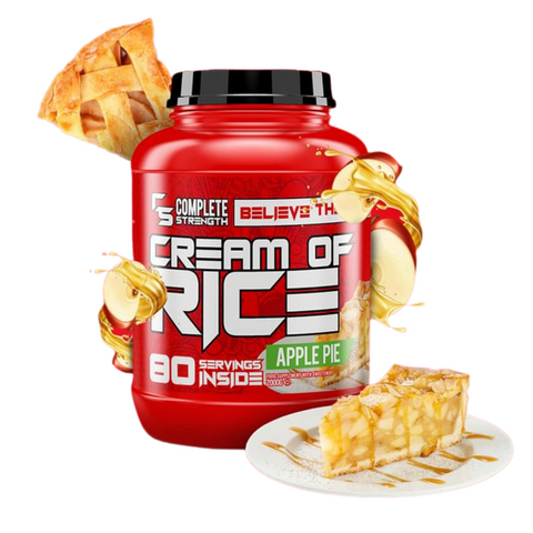 Complete Strength Cream Of Rice 80 Servings 2kg - Apple Pie - GymSupplements.co.uk