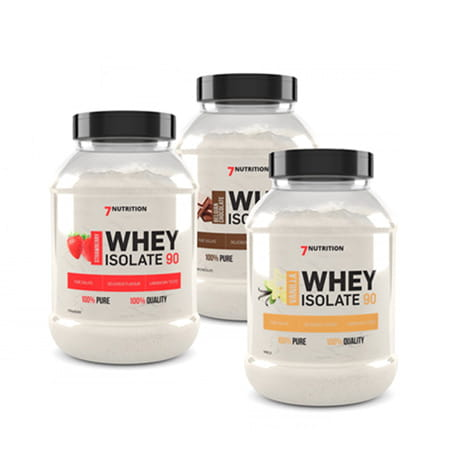7Nutrition Whey Isolate 90 2kg - Supplements-Direct.co.uk