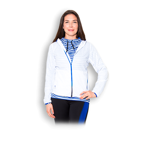 Womens USN Light Weight Jacket - GymSupplements.co.uk