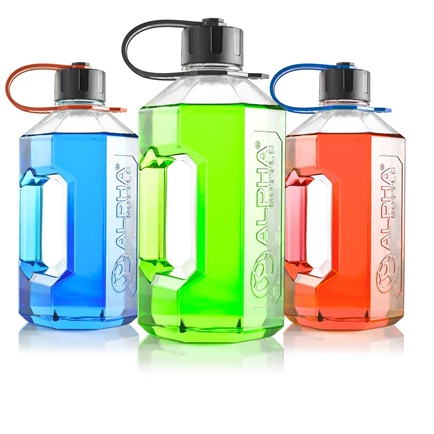 ALPHA BOTTLE XXL - 2400ML BPA FREE WATER JUG - GymSupplements.co.uk