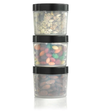 Alpha Designs Storage Container Pods x3 - Supplements-Direct.co.uk