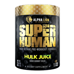 Alpha Lion SuperHuman 401g - Hulk Juice - GymSupplements.co.uk