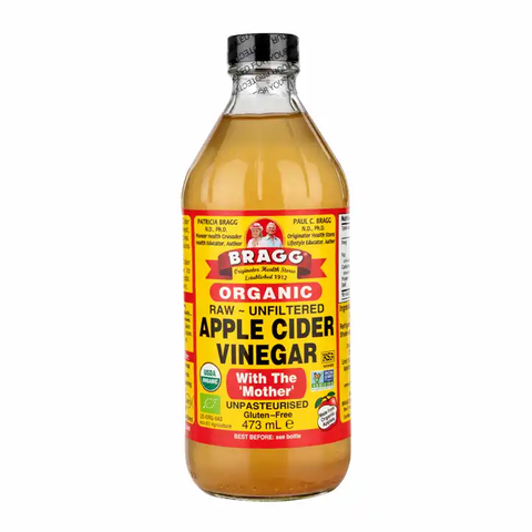 Bragg Organic Apple Cider Vinegar with The Mother - Supplements-Direct.co.uk