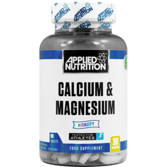 APPLIED NUTRITION CALCIUM & MAGNESIUM - 90 CAPS - Supplements-Direct.co.uk