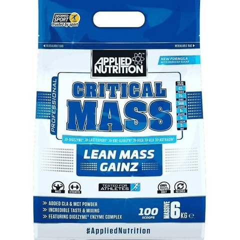 Applied Nutrition Critical Mass 6kg - Supplements-Direct.co.uk