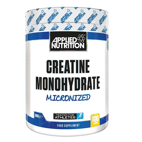 Applied Nutrition - Creatine Monohydrate - Unflavoured - 500g - GymSupplements.co.uk