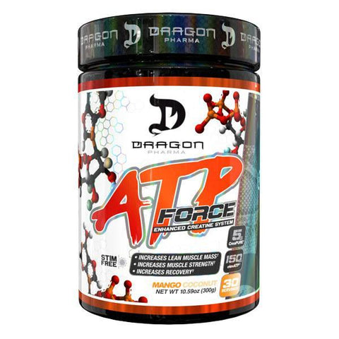 DRAGON PHARMA ATP FORCE 300g - Supplements-Direct.co.uk